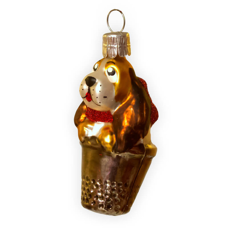 Doggie in a thimble Red Ribbon