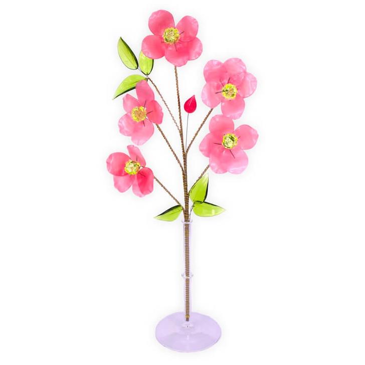 Crystal Flower Cherry Blossom Large