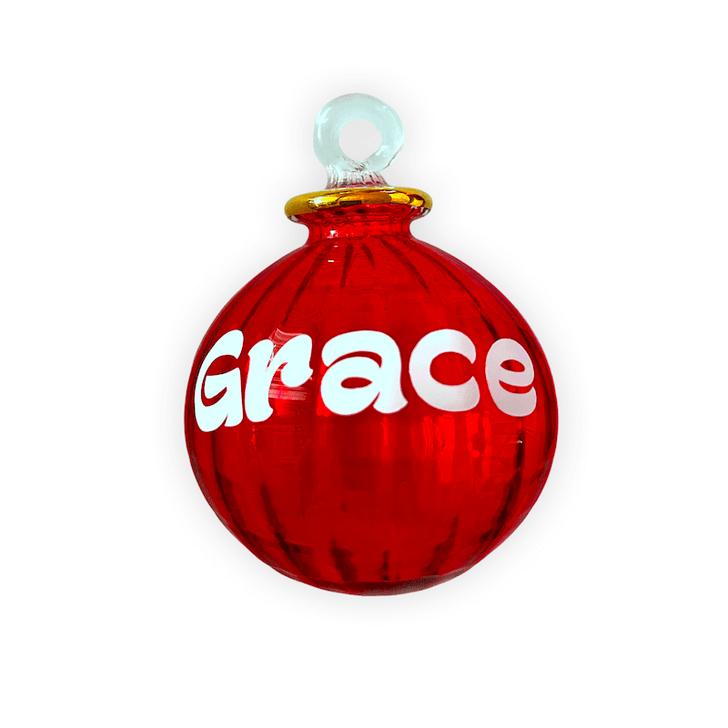 Personalised Crystalline Ornament
