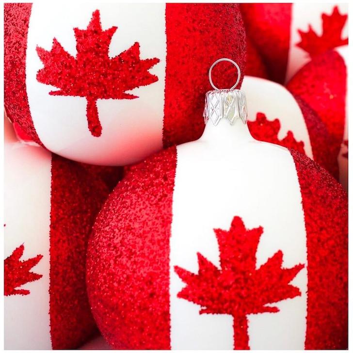 Canada Flag Ornament Bullarum