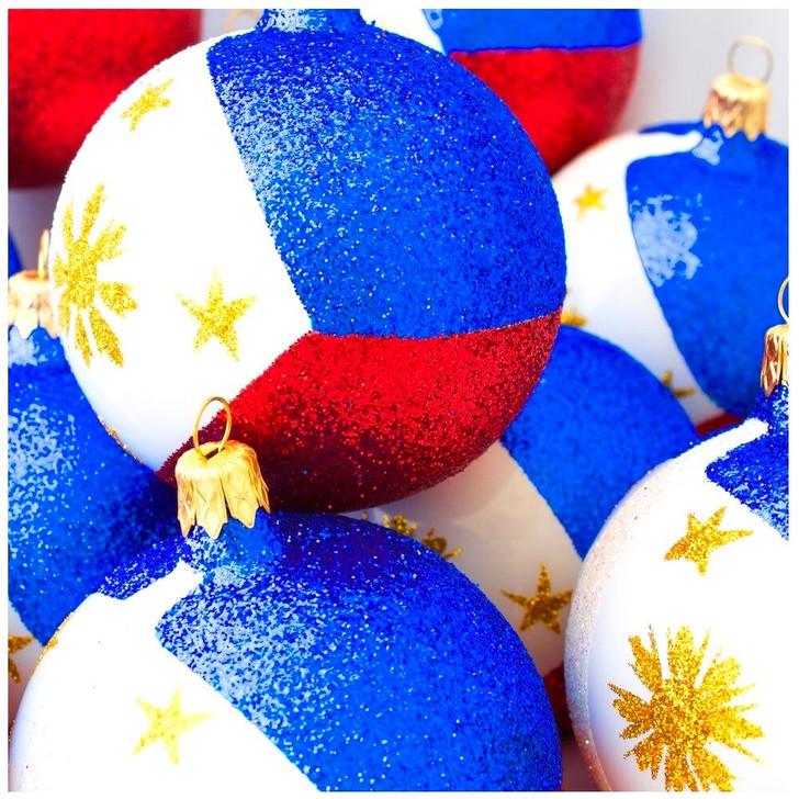 Philippines Flag Ornament Bullarum