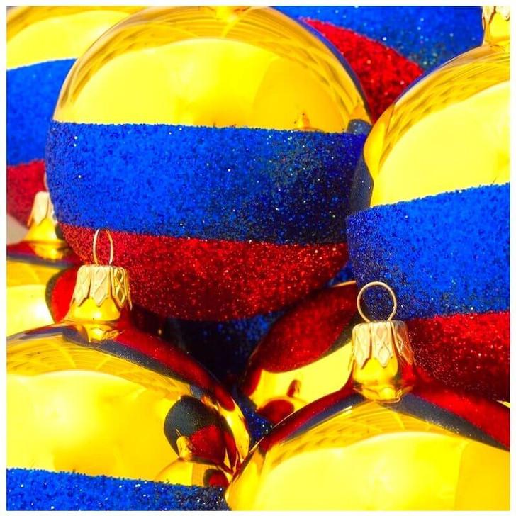 Colombia Flag Ornament Bullarum