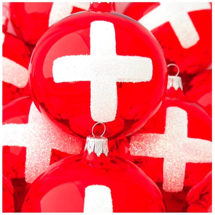 Switzerland Flag Ornament Bullarum