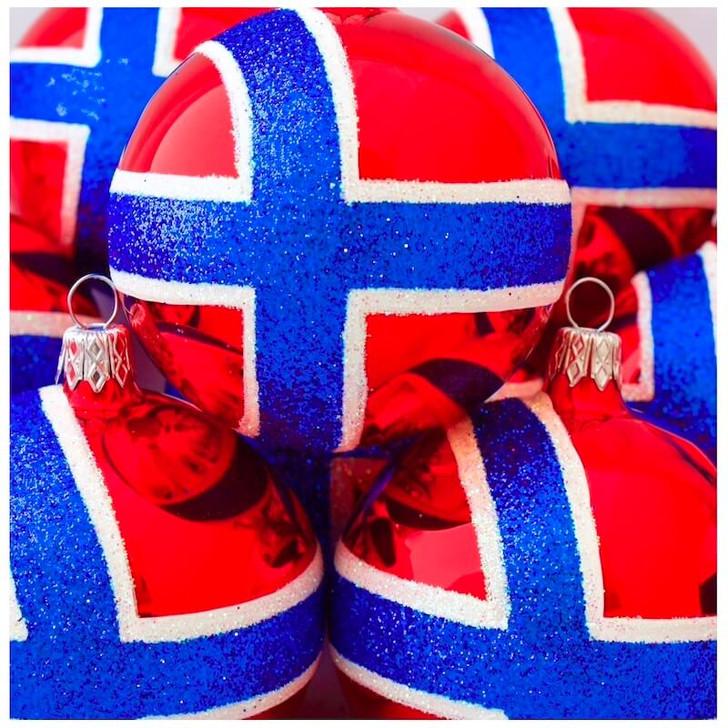 Norway Flag Ornament Bullarum