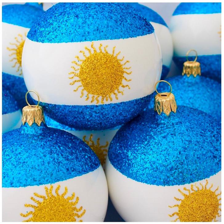 Argentina Flag Ornament Bullarum