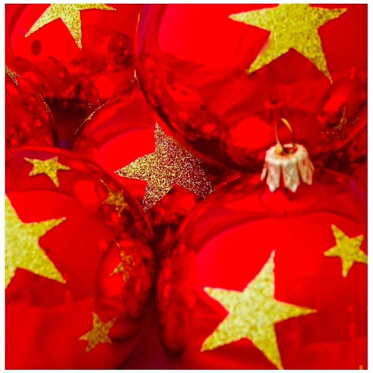 China Flag Ornament Bullarum