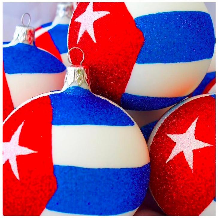 Cuba Flag Ornament Bullarum