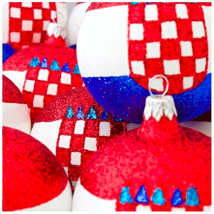 Croatia Flag Ornament Bullarum