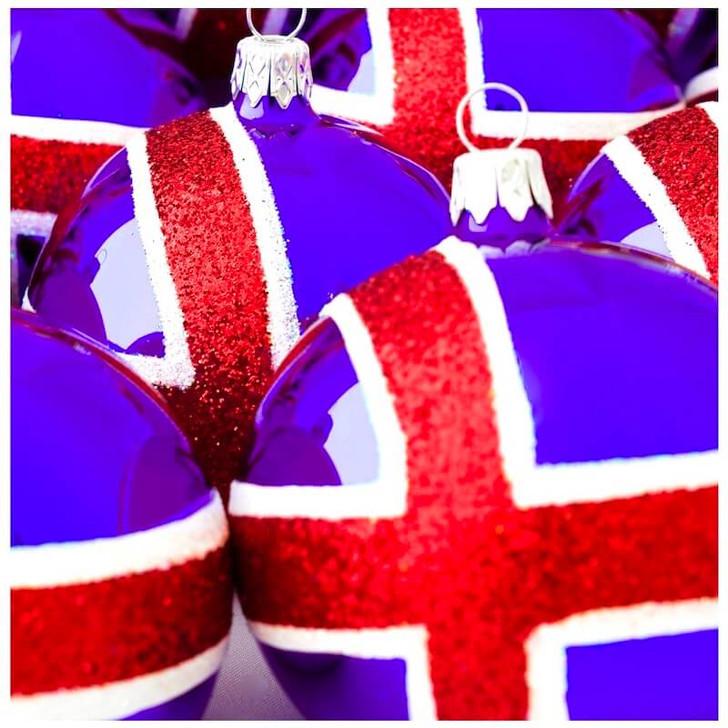 Iceland Flag Ornament Bullarum