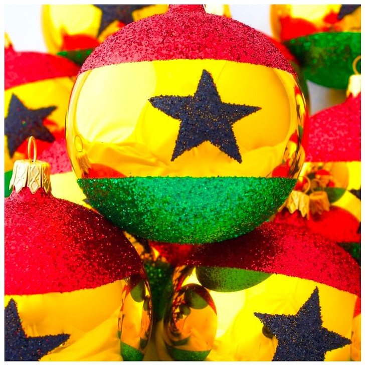 Ghana Flag Ornament Bullarum