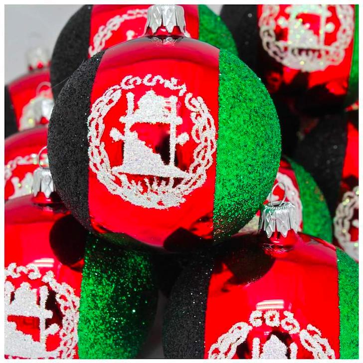 Afghanistan Flag Ornament Bullarum