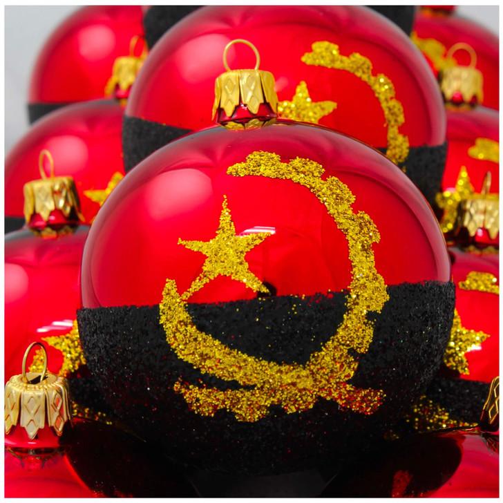 Angola Flag Ornament Bullarum