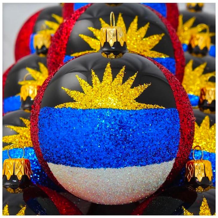 Antigua and Barbuda Flag Ornament Bullarum