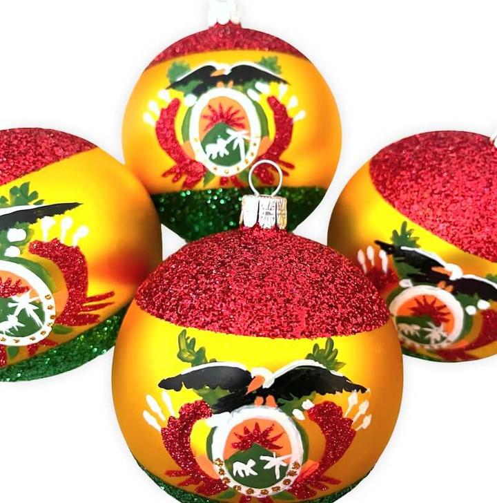 Bolivia Flag Ornament