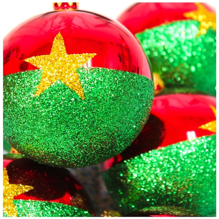 Burkina Faso Flag Ornament Bullarum