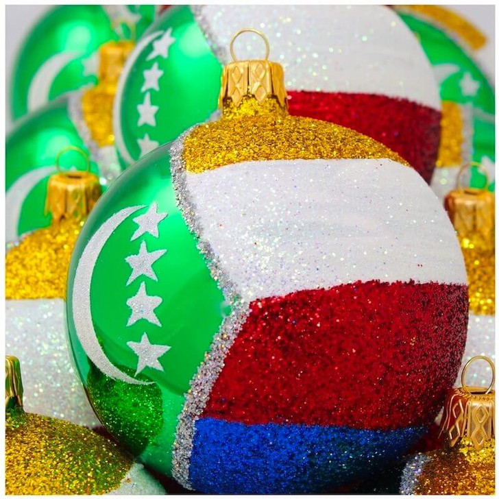 Comoros Flag Ornament Bullarum