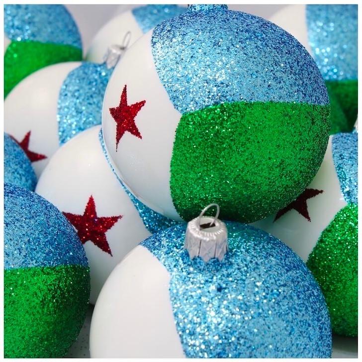 Djibouti Flag Ornament Bullarum