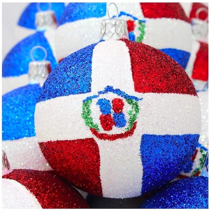 Dominican Republic Flag Ornament Bullarum