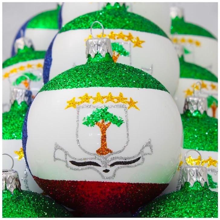 Equatorial Guinea Flag Ornament Bullarum