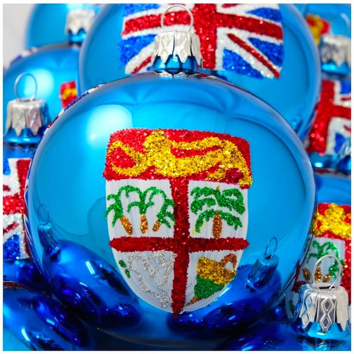 Fiji Flag Ornament Bullarum