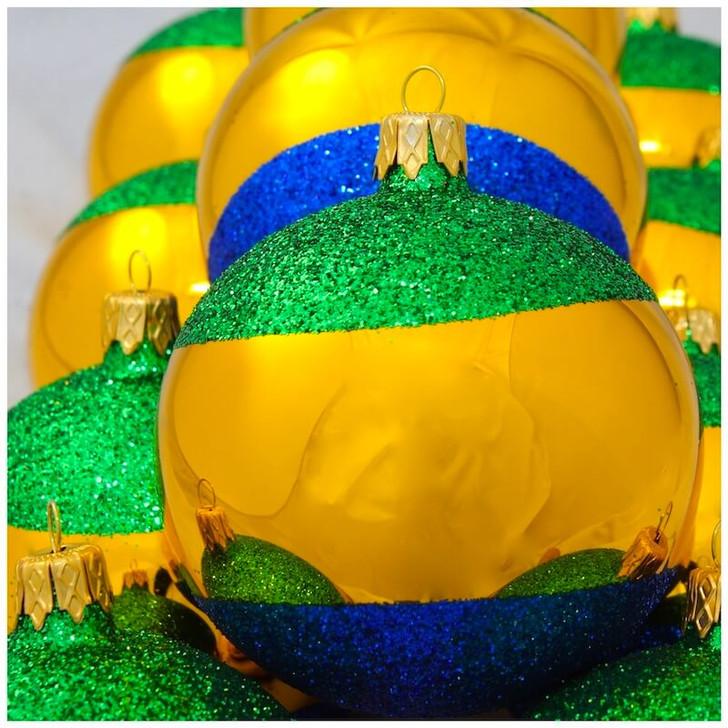 Gabon Flag Ornament Bullarum