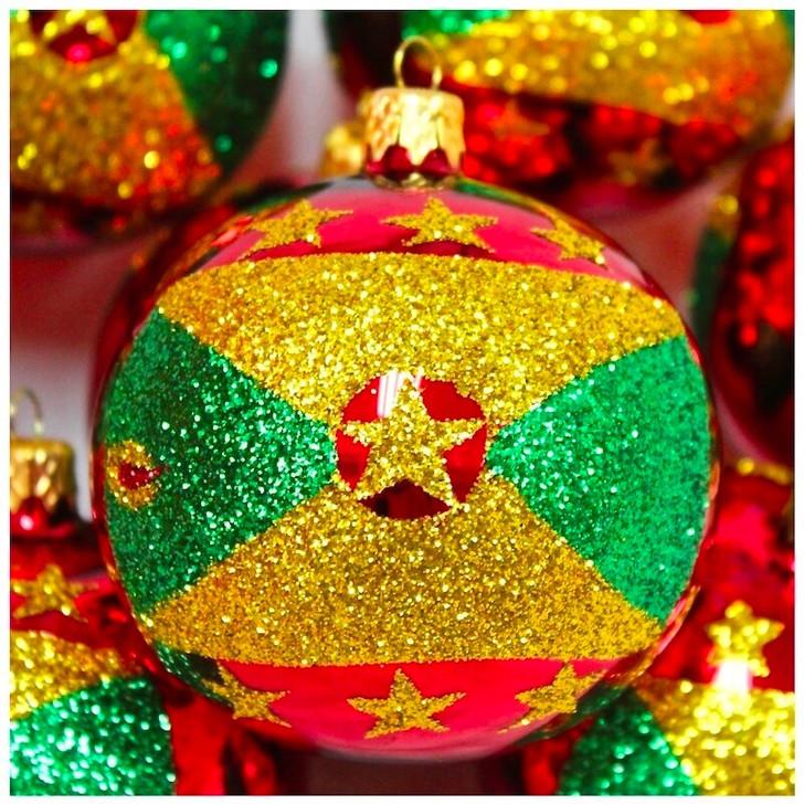 Grenada Flag Ornament Bullarum