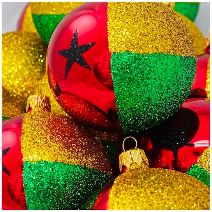 Guinea Bissau Flag Ornament Bullarum