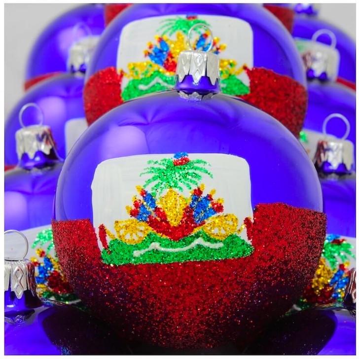 Haiti Flag Ornament Bullarum