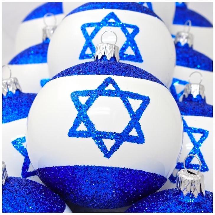 Israel Flag Ornament Bullarum