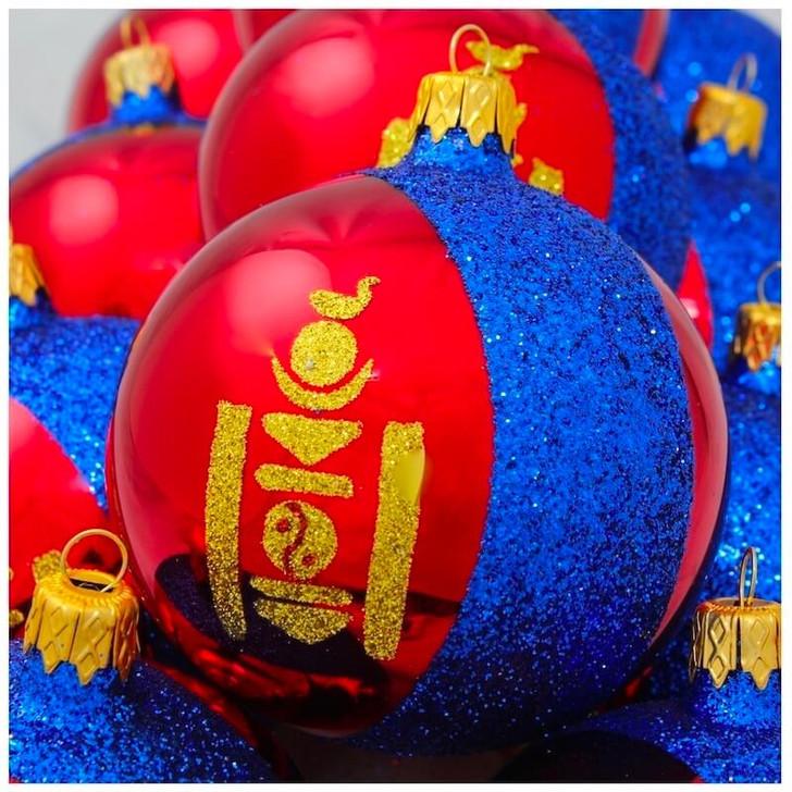 Mongolia Flag Ornament Bullarum
