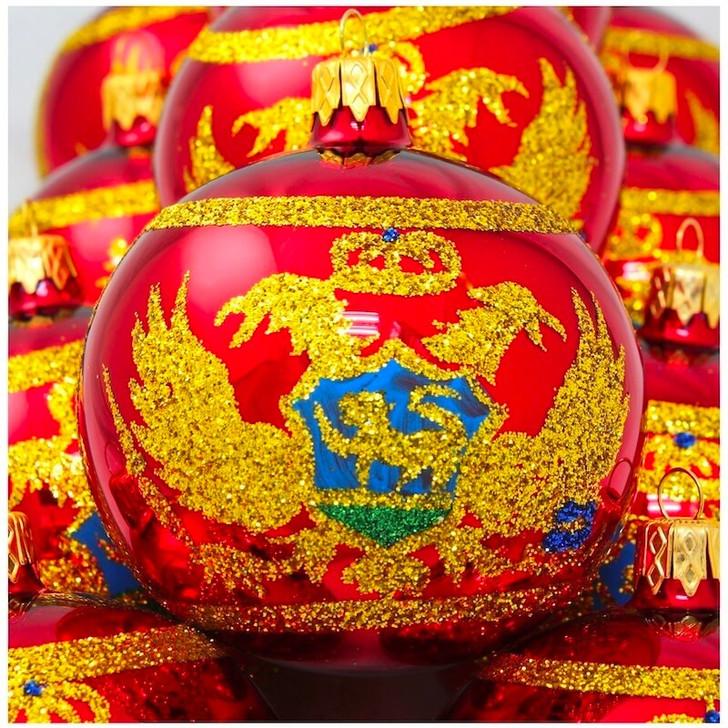 Montenegro Flag Ornament Bullarum