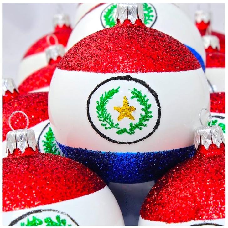 Paraguay Flag Ornament Bullarum
