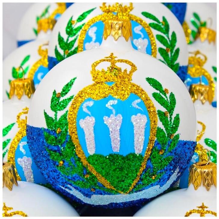 San Marino Flag Ornament Bullarum