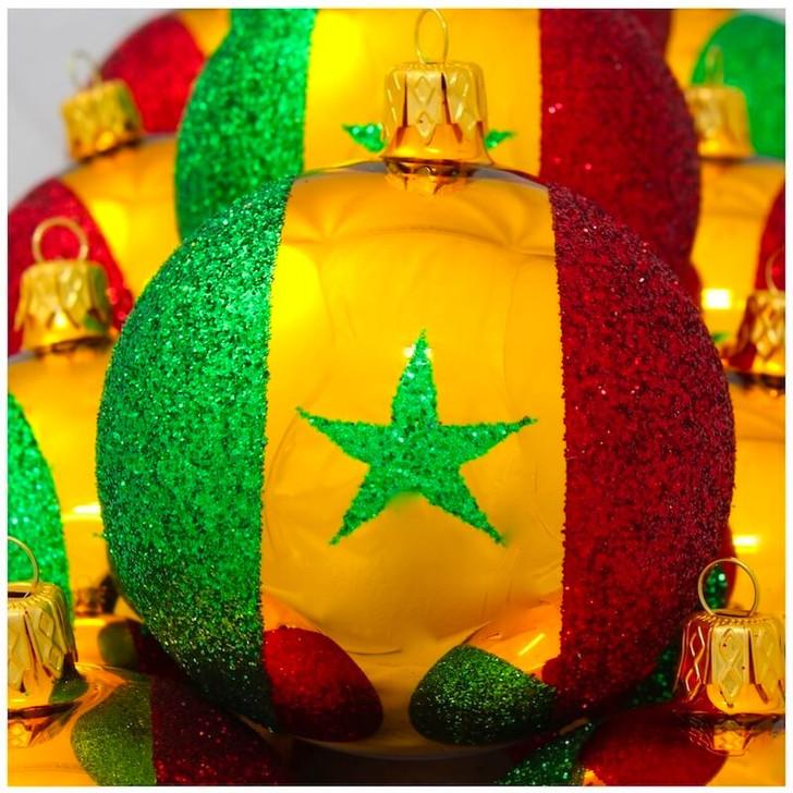 Senegal Flag Ornament Bullarum