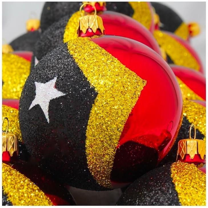 Timor Leste Flag Ornament Bullarum