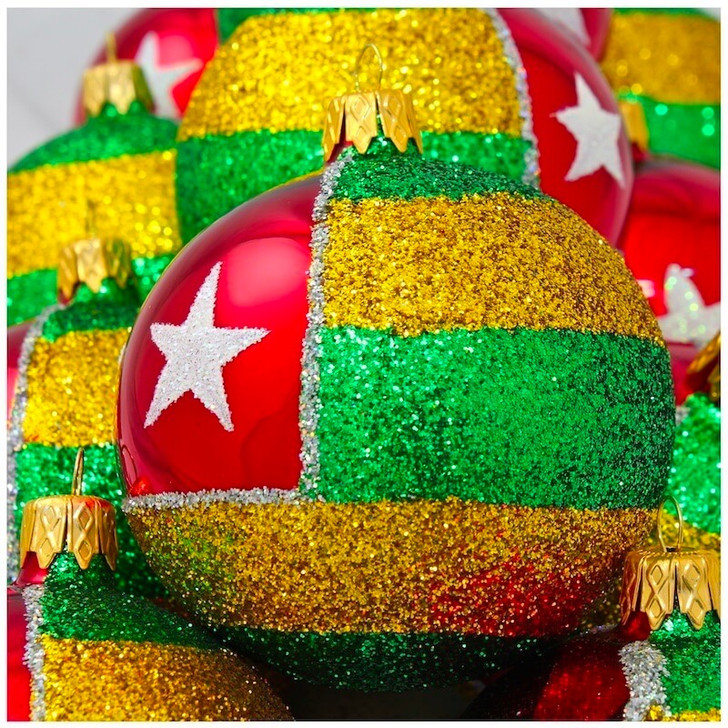 Togo Flag Ornament Bullarum