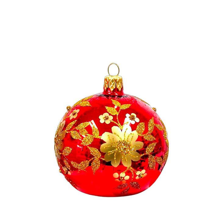 Festive Flower Photo Holder Ornament