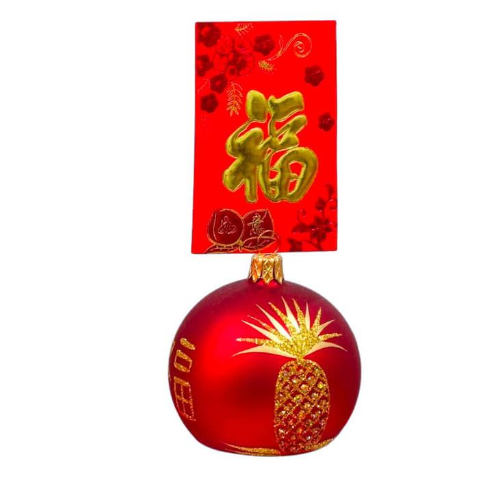 Pineapple Ang Pao Ornament