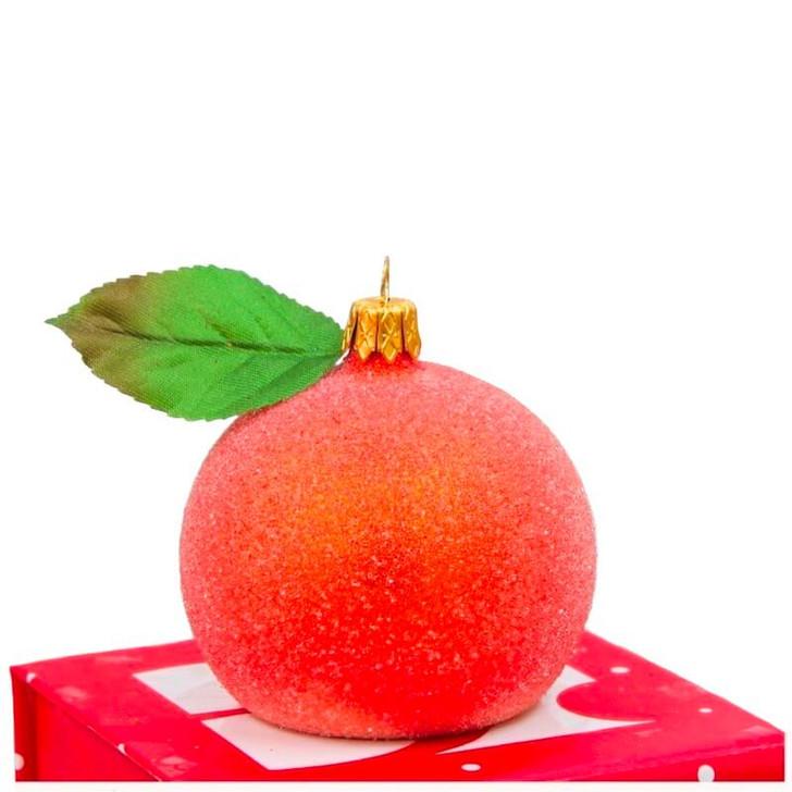 Peach Orange AngPao Photo Holder Ornament