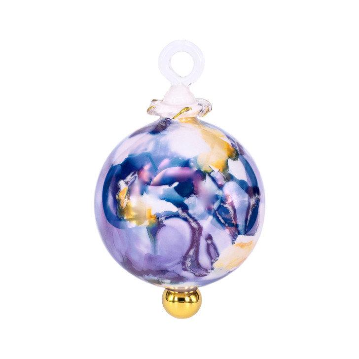 Orchid Glow Bluette Ornament