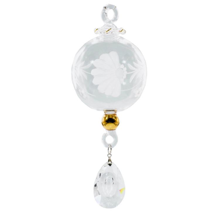 Engraved Elegance Ornament
