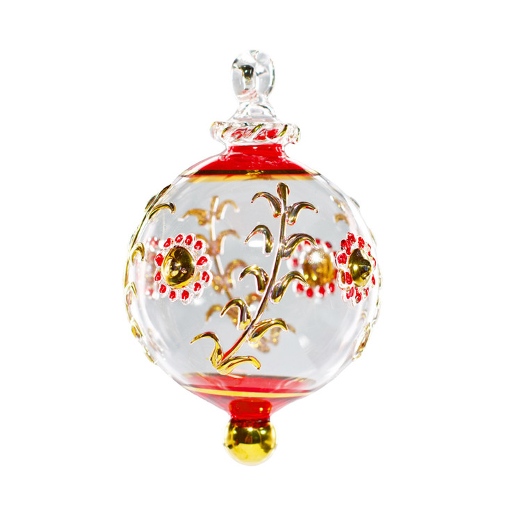 Jewel Ornament Red