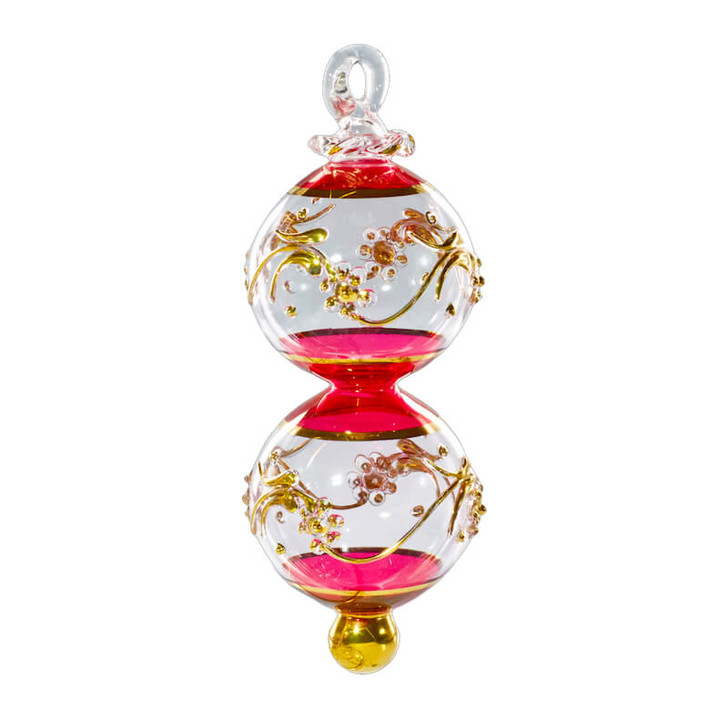 Lucky Eight Glass Ornament