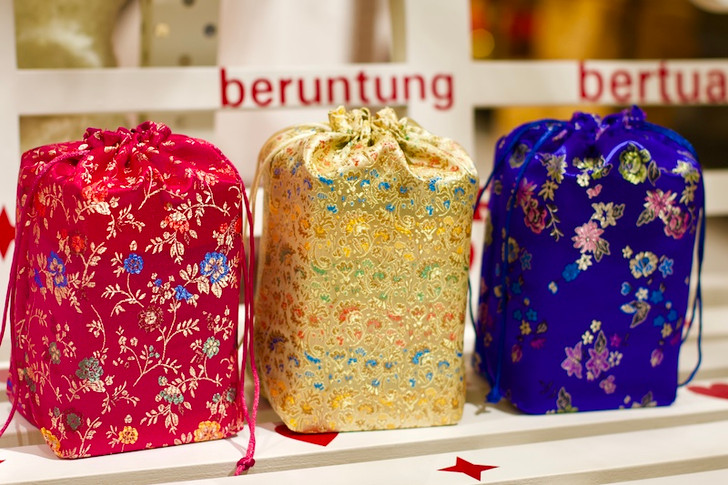 Brocade Gift Pouch Set