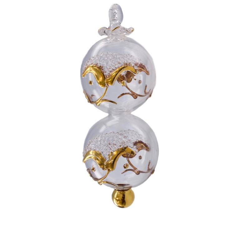 Lucky 8 - Eight Clear Ornament
