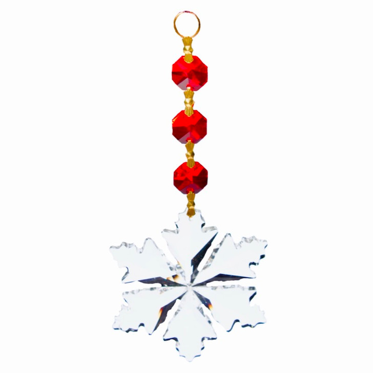 Suncatcher Red Wishing Star