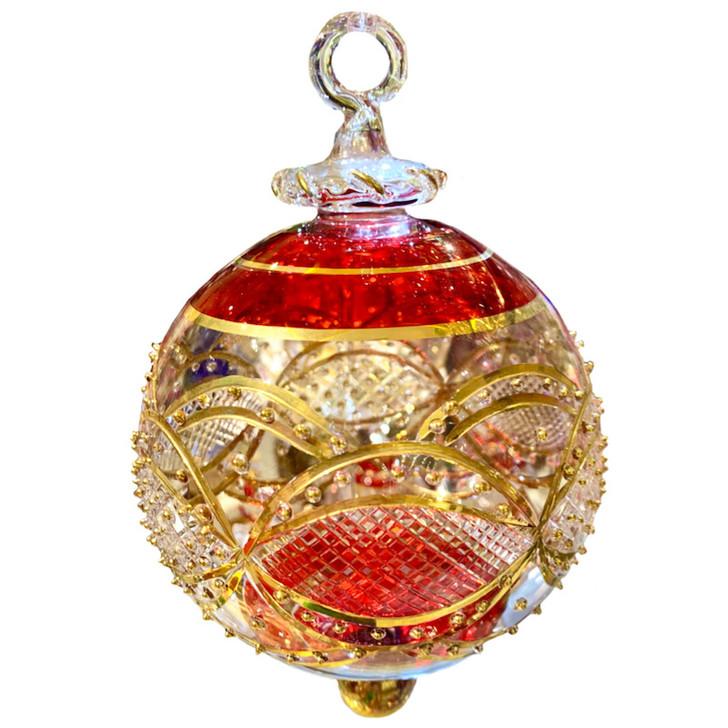 Empress Glass Ornament Large