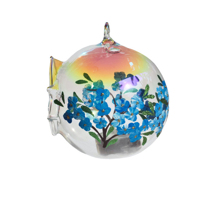 "Candle Holder Sphere Set ""Forget-Me-Not"""
