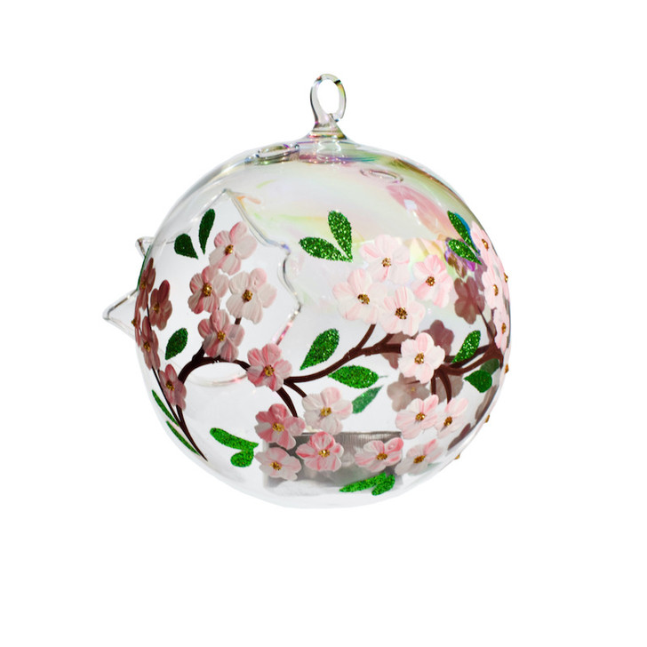 "Candle Holder Sphere Set ""Cherry Blossom"""
