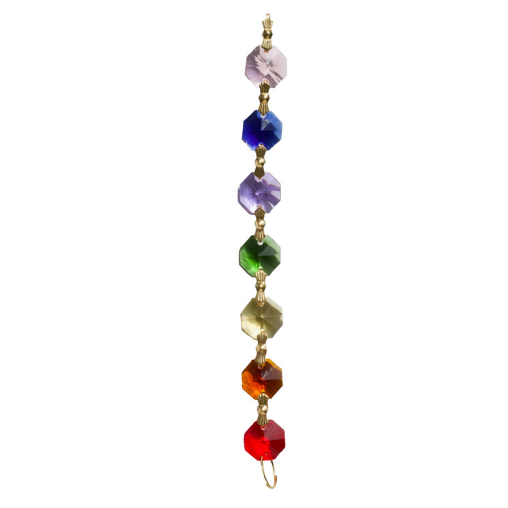 Rainbow Crystal Chain